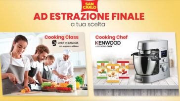 San Carlo: vinci Cooking Class Chef e Cooking Chef Kenwood
