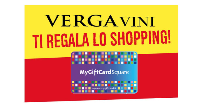 Verga Vini: vinci shopping card
