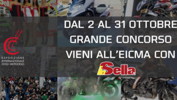 Vinci EICMA 2019 con In Sella