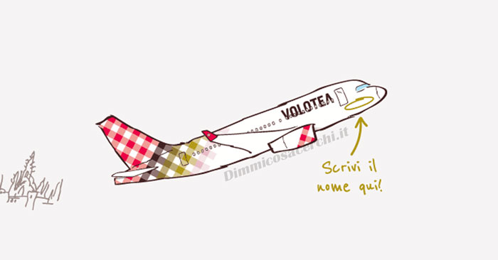 Volotea: vinci 300€ per volare gratis
