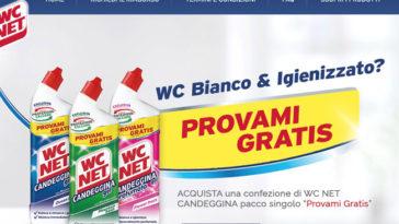 "WC Net Candeggina ""Provami gratis"""