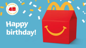 40 anni Happy Meal