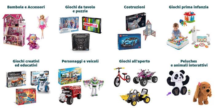 """Amazon """"Black Friday"""": sconti sui giocattoli"""