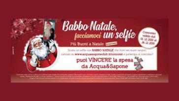 Babbo Natale facciamoci un selfie