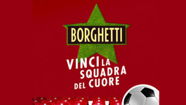 Caffè Borghetti: vinci la squadra del cuore