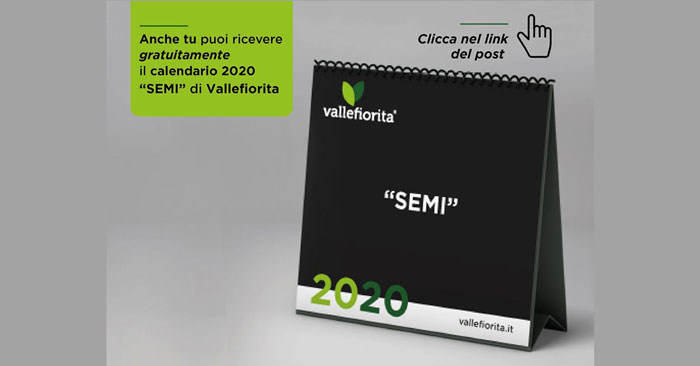 Calendario Vallefiorita 2020 omaggio