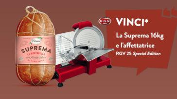 """Concorso Fiorucci """"Vinci mortadella Suprema"""""""