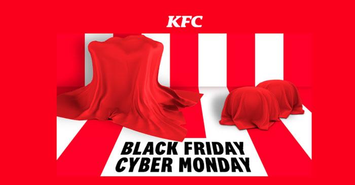 KFC Black Friday e Cyber Monday