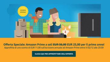 Offerta Speciale: Amazon Prime
