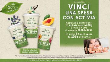 Vinci Happy Card con Activia