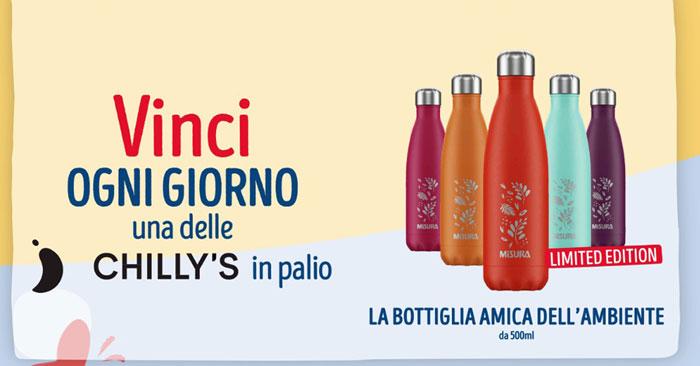 Vinci bottiglie Chilly's con Misura e Ipercoop