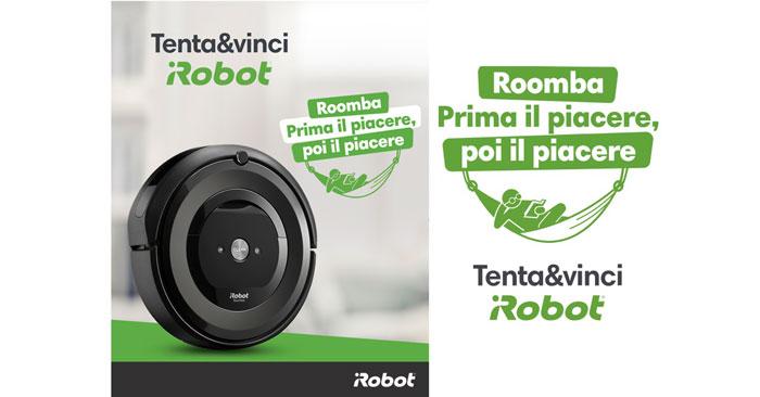 Vinci iRobot Roomba e5 gratis!