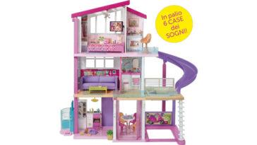 Vinci la casa Barbie dei sogni