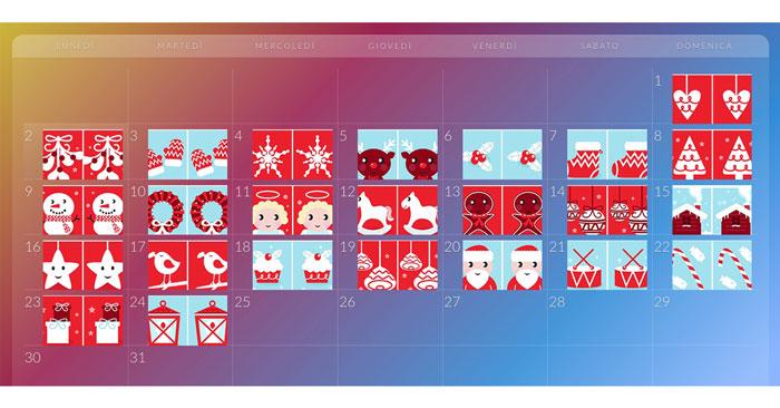 Calendario Avvento Sandberg