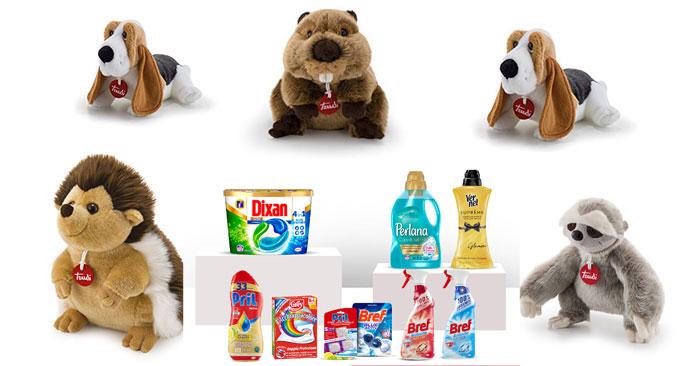 Casa Henkel ti regala peluche Trudi + spedizione gratuita + prodotti omaggio!