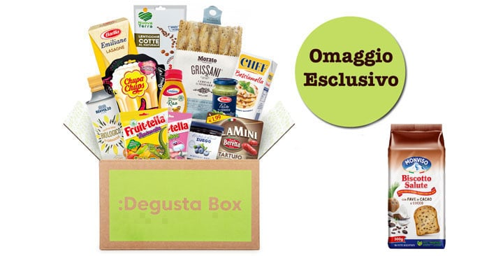 Codice sconto Degustabox esclusivo per i lettori di DimmiCosaCerchi!