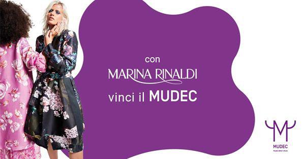 Con Marina Rinaldi vinci il MUDEC – Museo Delle Culture