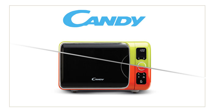 Diventa tester microonde Candy DIVO