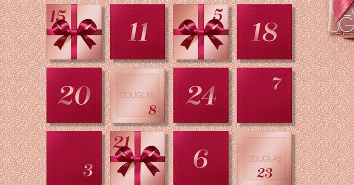 Douglas: gioca con il calendario dell'Avvento digitale!