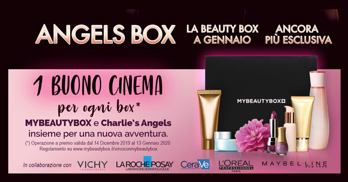 MyBeautyBox Charlie's Angels