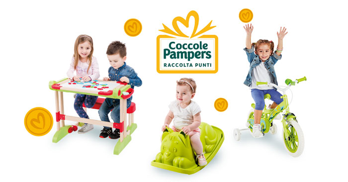 "Pampers: raccolta punti ""Coccole"""