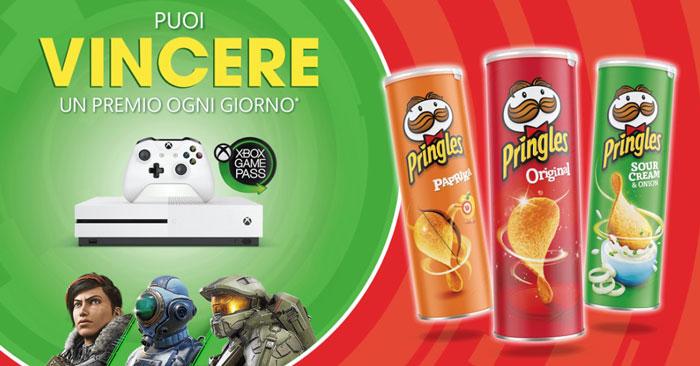 Pringles: vinci Xbox One S