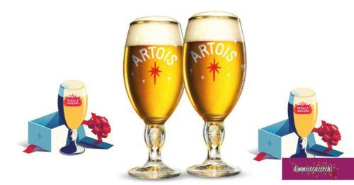 Stella Artois ti regala i calici da birra