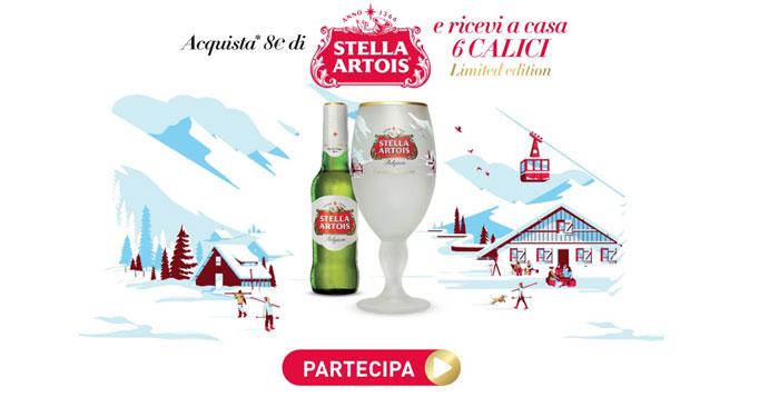 Stella Artois ti regala i calici