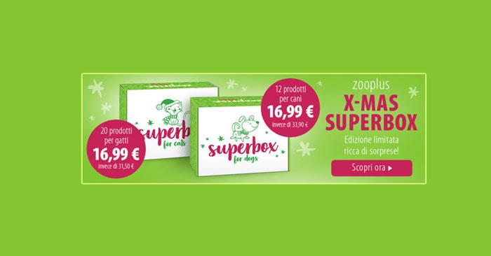 Superbox natalizia Zooplus