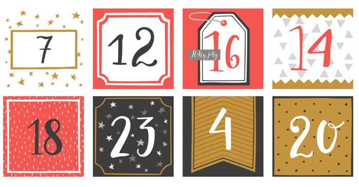 """Tessuti.com """"Calendario Avvento"""""""
