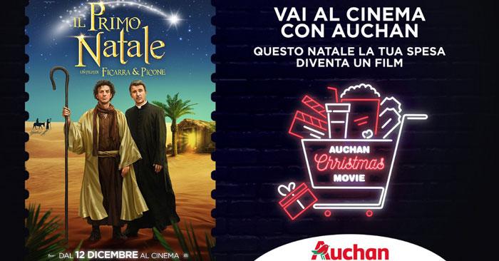 Vai al cinema con Auchan