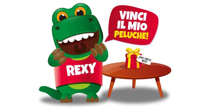 Beretta: vinci Peluche Rexy