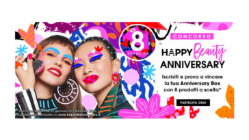 "Concorso Sephora ""Happy Beauty Anniversary"""
