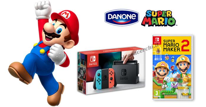 Danone Yogoloso: vinci Nintendo Switch