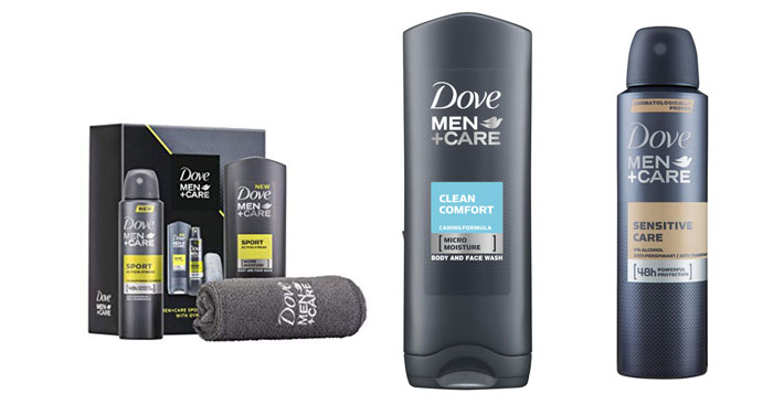 In prima linea con Dove Men Care