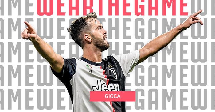 """Juventus """"Wear The Game"""""""