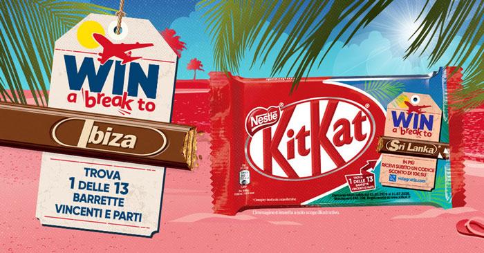 Kitkat 2020 Travel Break
