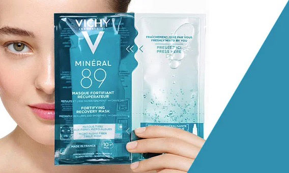 Mineral 89 Maschera in tessuto: diventa tester