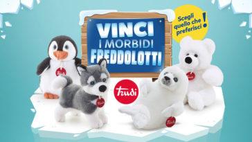 "Narhinel: vinci i peluche ""Freddolotti"" Trudi"