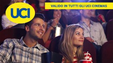 UCI Cinemas: biglietti a metà prezzo