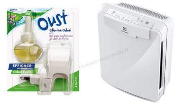 Vinci purificatori d'aria Electrolux con Oust