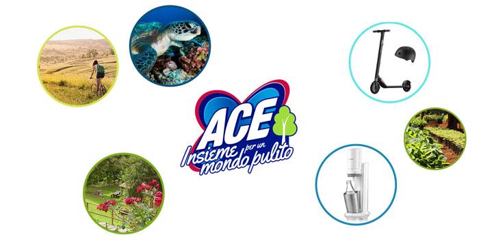 """Ace """"Insieme per un mondo pulito"""""""