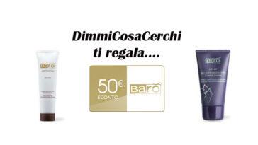 Buono sconto Barò Cosmetics da 50€ omaggio