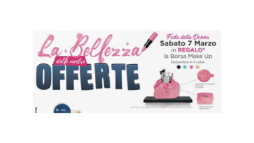 Festa della Donna Acqua&Sapone: borsa make up
