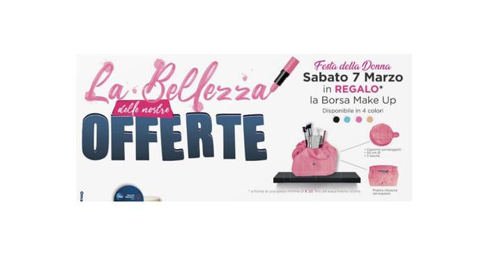 Festa della Donna Acqua&Sapone: borsa make up
