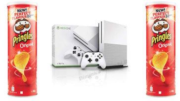 Pringles: vinci kit Xbox