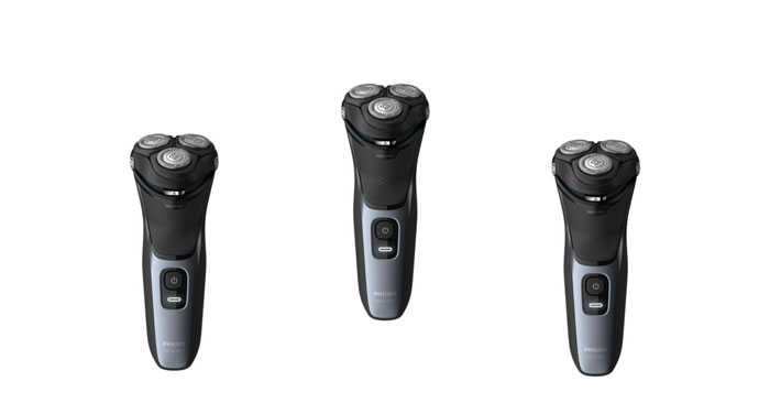 Rasoio elettrico Wet & Dry Serie 3000: diventa tester
