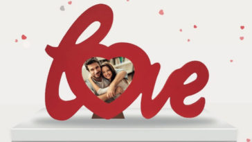 San Valentino Acqua&Sapone: portafoto Love in regalo!
