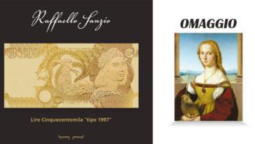 Storia della lira: in omaggio stampa su tela de la Dama col liocorno