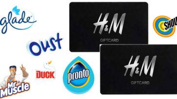 Vinci 150 card H&M con SC Johnson